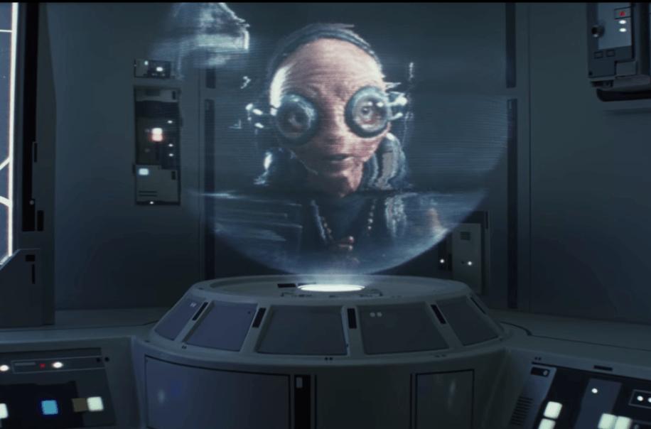Maz Kanata in Star Wars: The Last Jedi