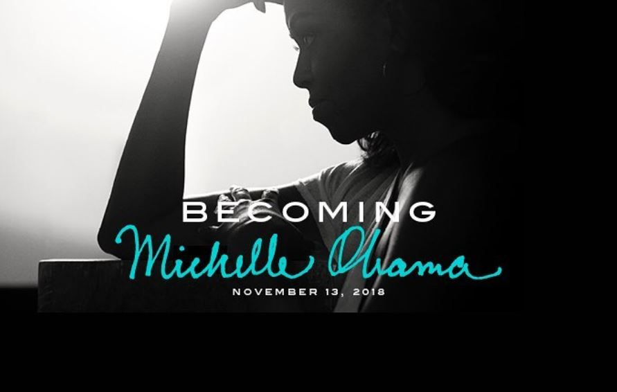 Michelle Obama's book Becoming