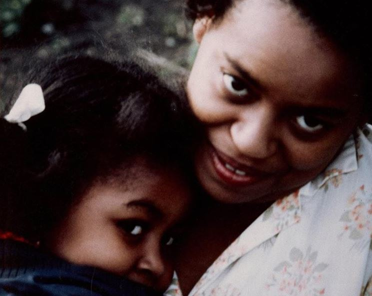 Michelle Obama and her mother
