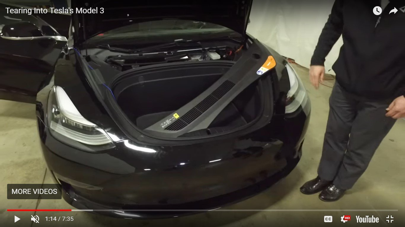 Problems with Model 3 trunk