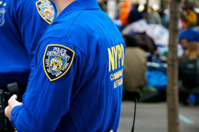 NYPD Community Affairs officers.