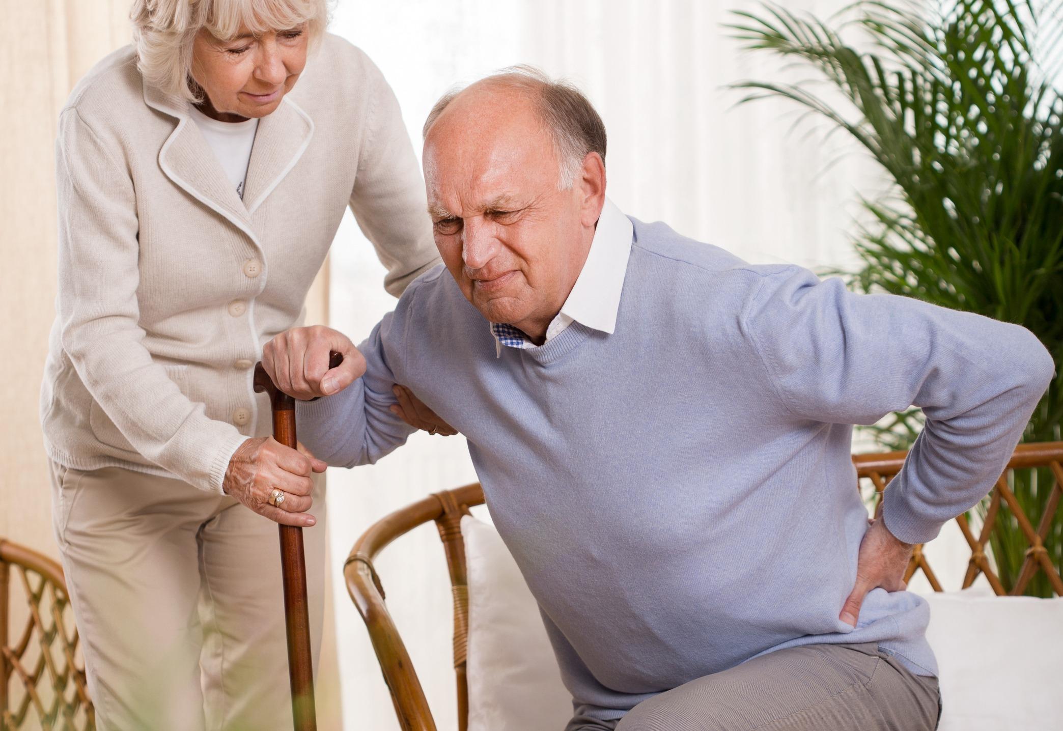 Older in pain