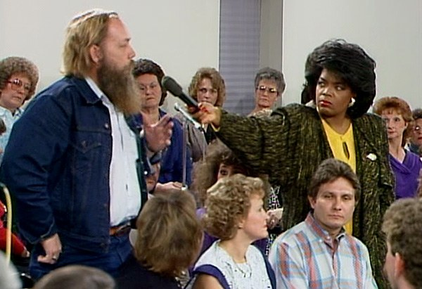 Oprah in Forsyth County, Georgia, in 1987