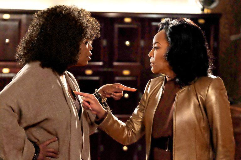 Oprah and Lynn Whitfield on Greenleaf