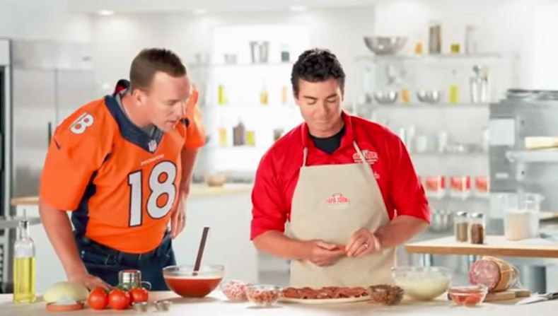 Peyton Manning in one of his many commercials.