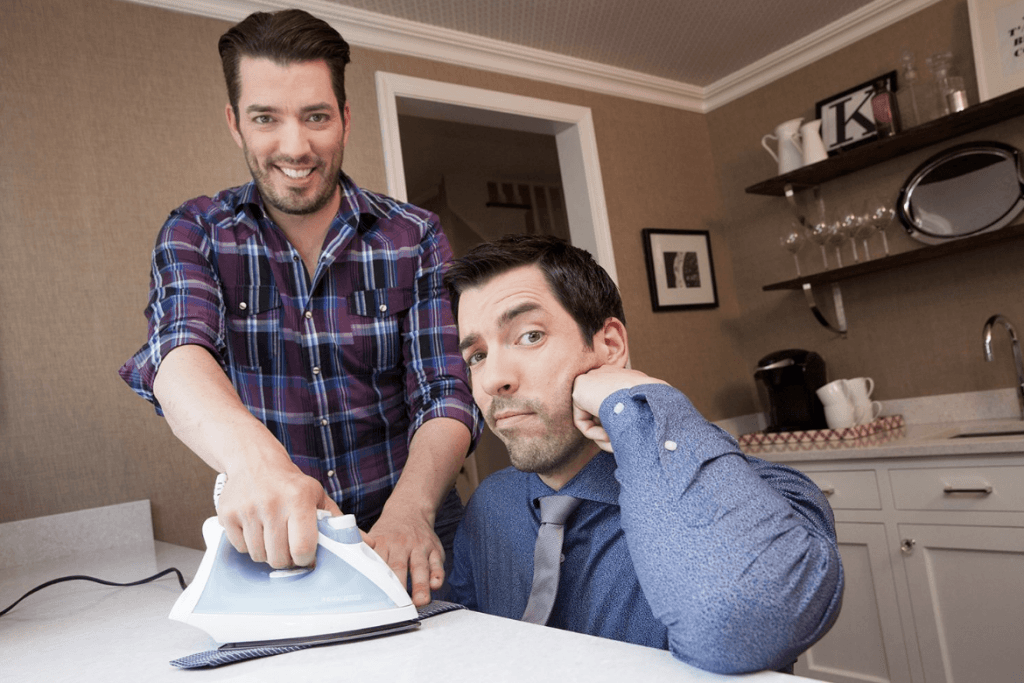 Property Brothers ironing
