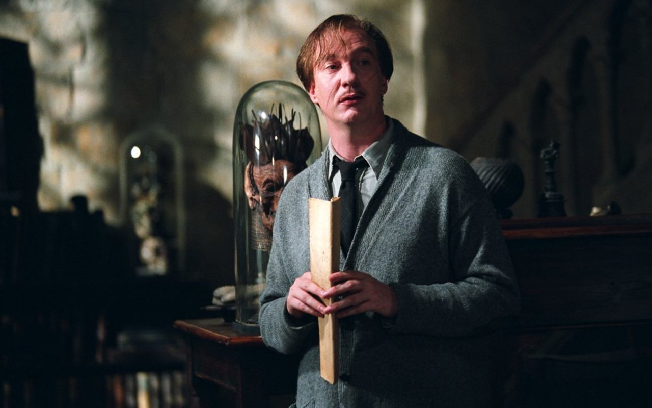 Remus Lupin in Harry Potter