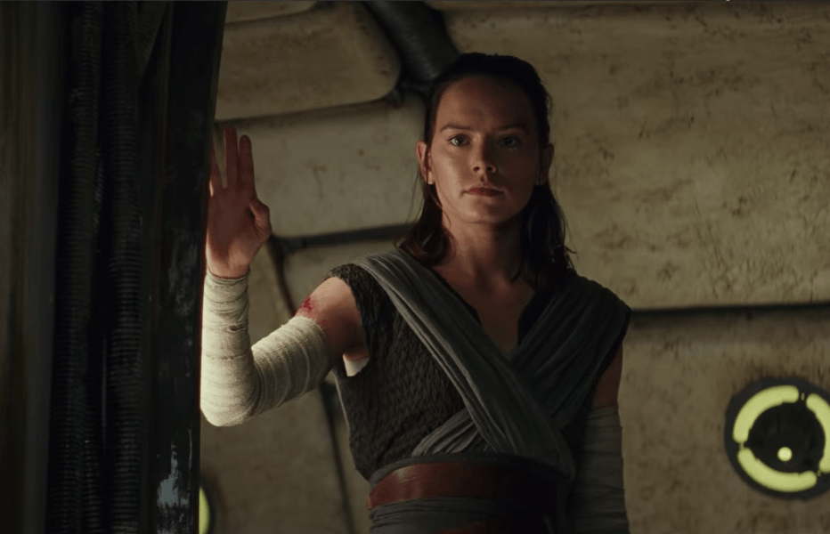 Rey severs her connection with Ben Solo