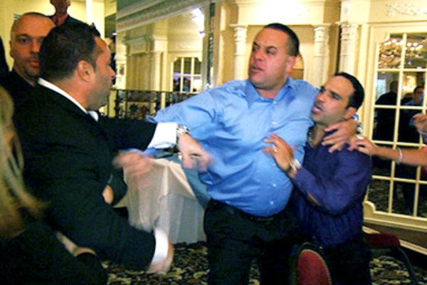 Fight on The Real Housewives of New Jersey