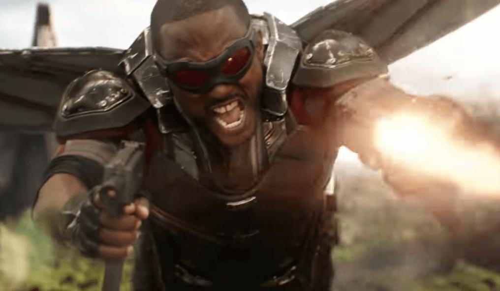 Sam Wilson in Avengers: Infinity War