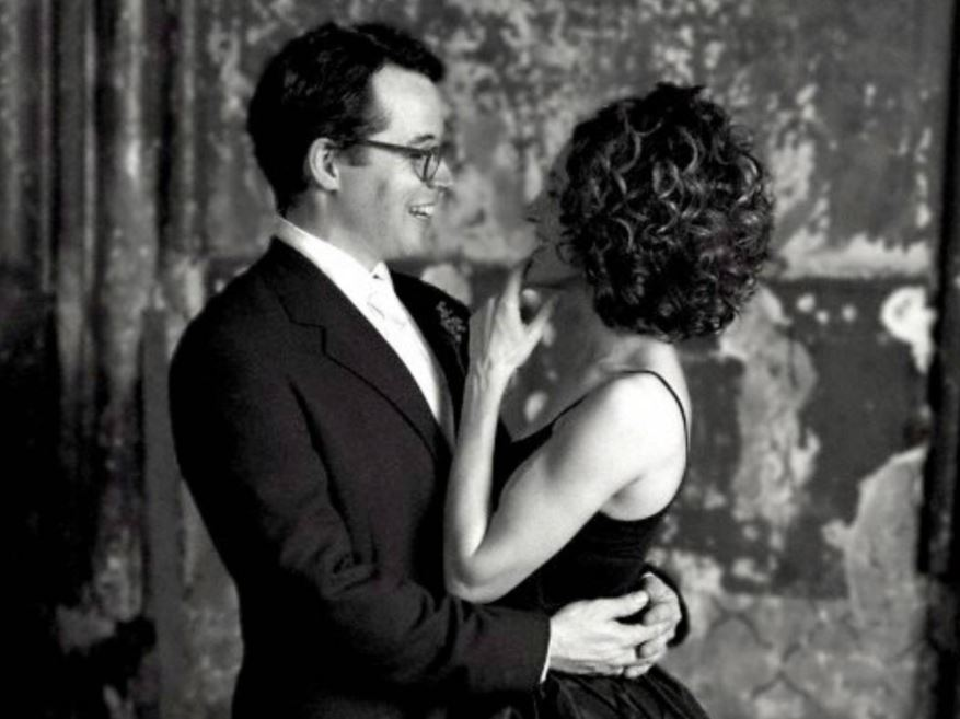 Sarah Jessica Parker and Matthew Broderick on their wedding day