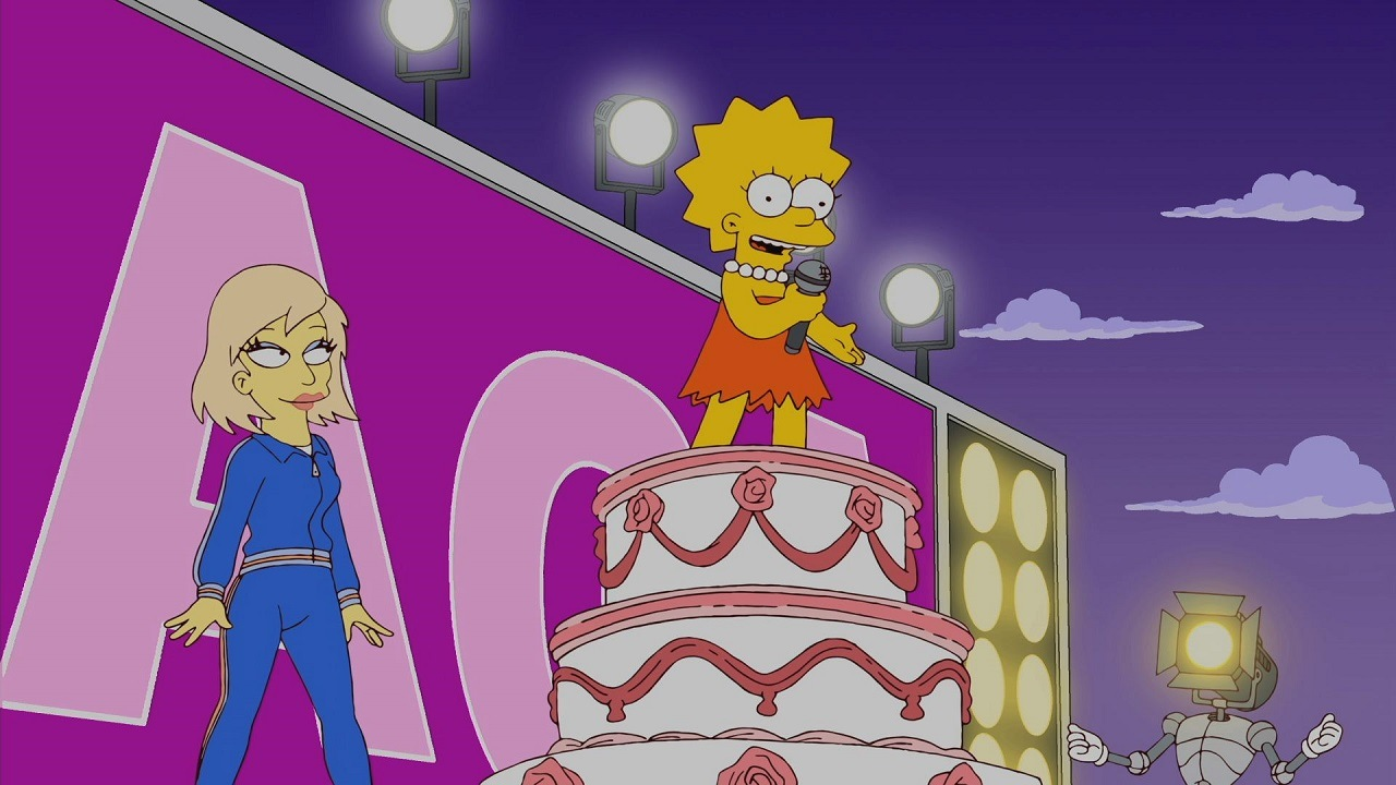 "The Simpsons ""Lisa Goes Gaga"""