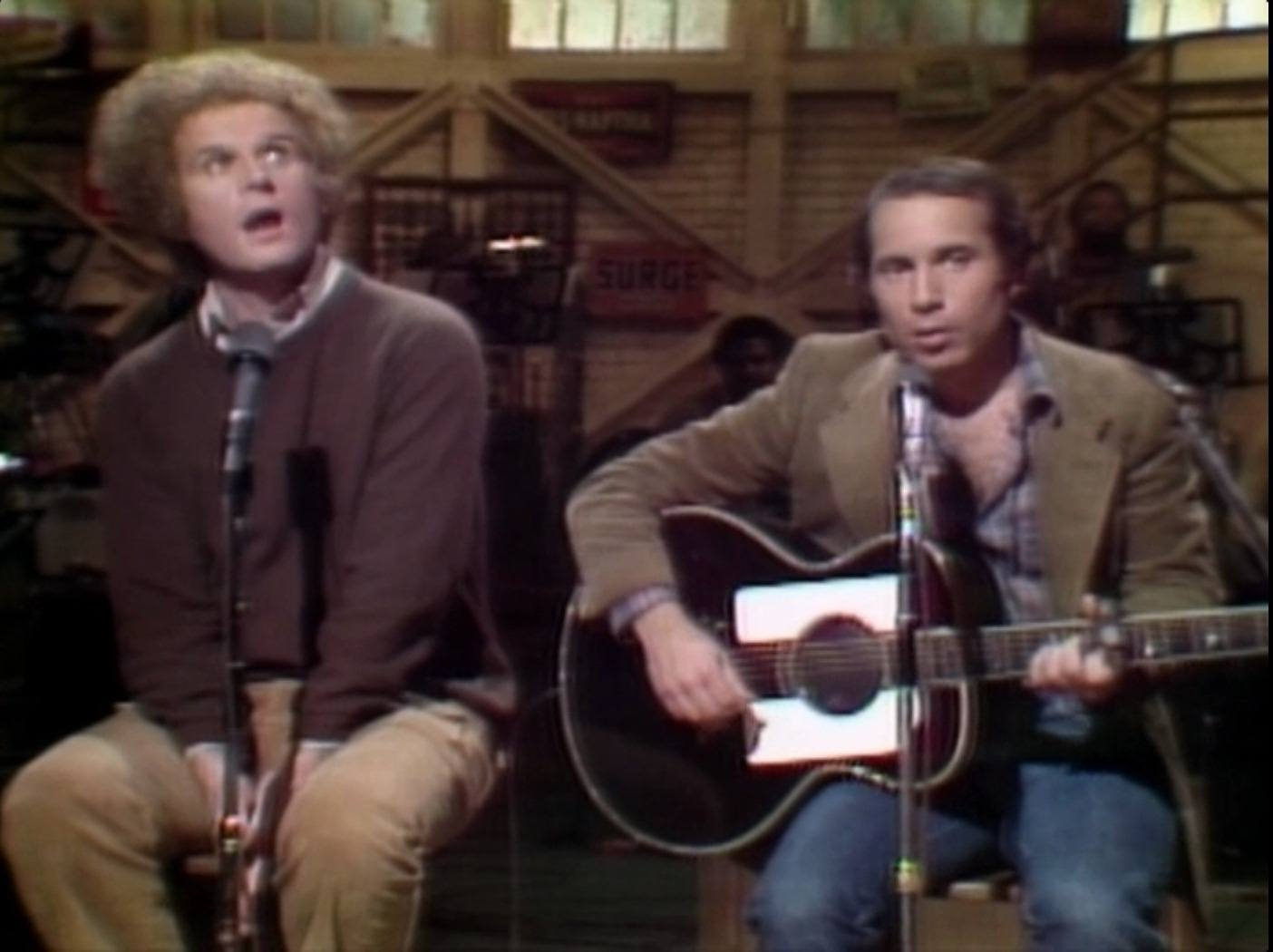 Charles Grodin and Paul Simon on Saturday Night Live
