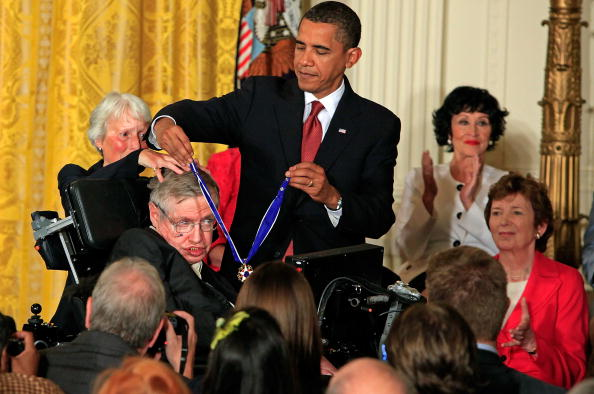 stephen hawking and barack obama