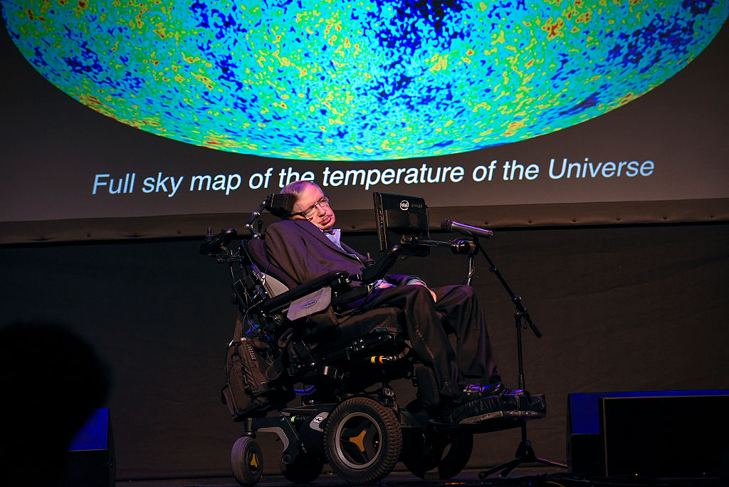 Stephen Hawking lecture