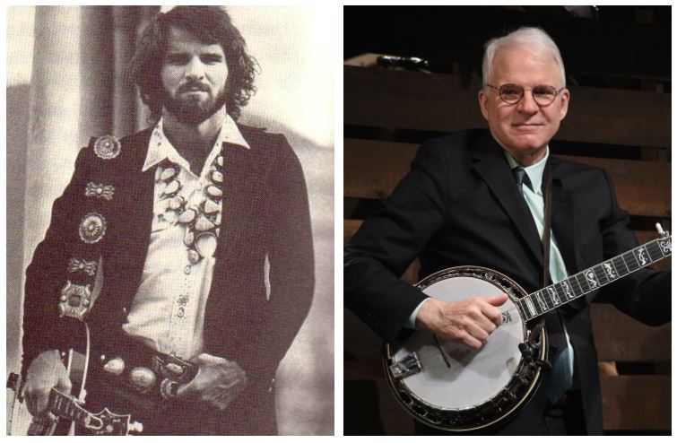 Steve Martin then and now