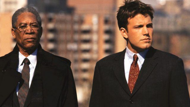 Morgan Freeman and Ben Affleck in The Sum Of All Fears