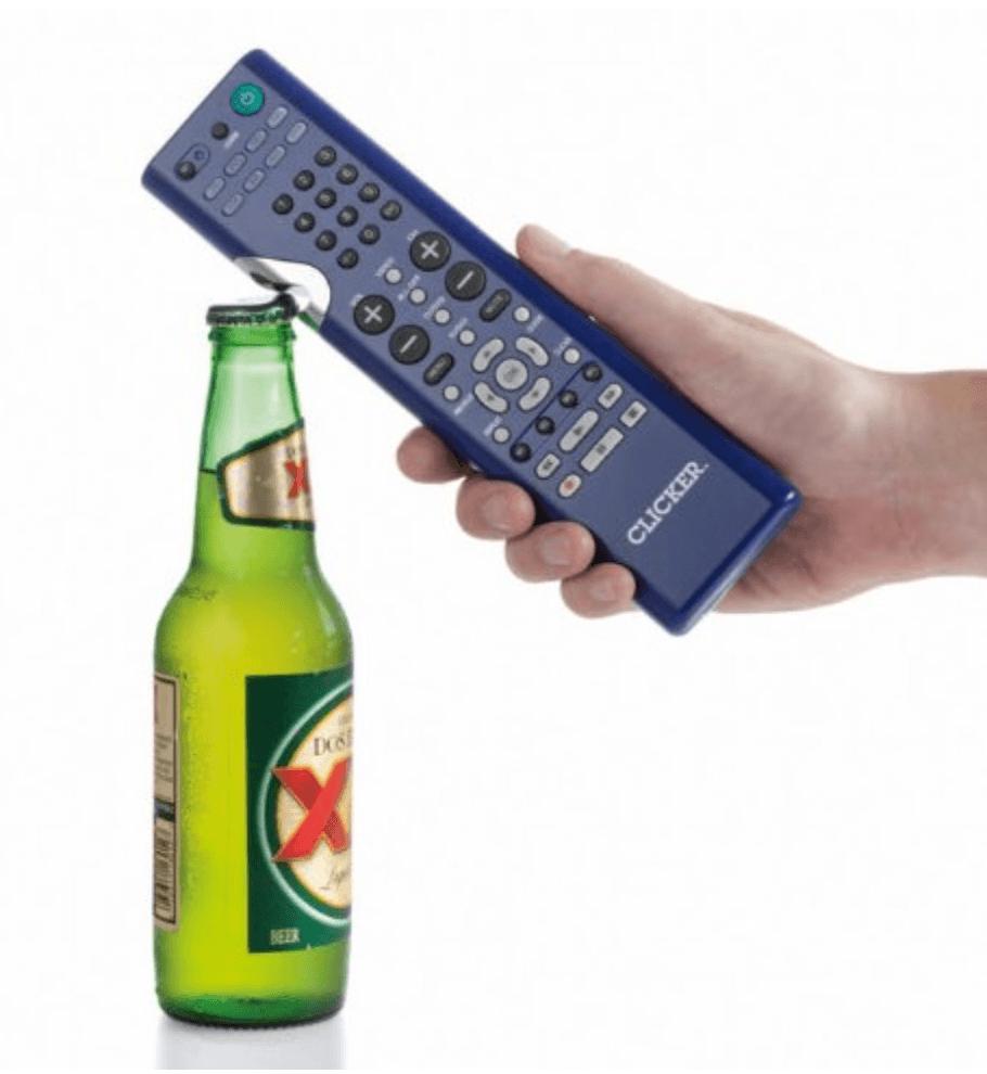 the clicker bottle opener