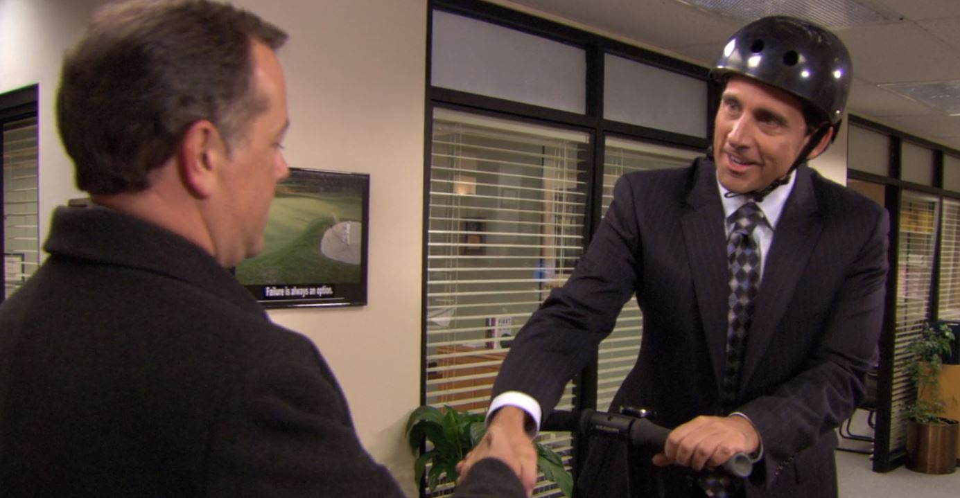 """The Office """"The Banker"""""""