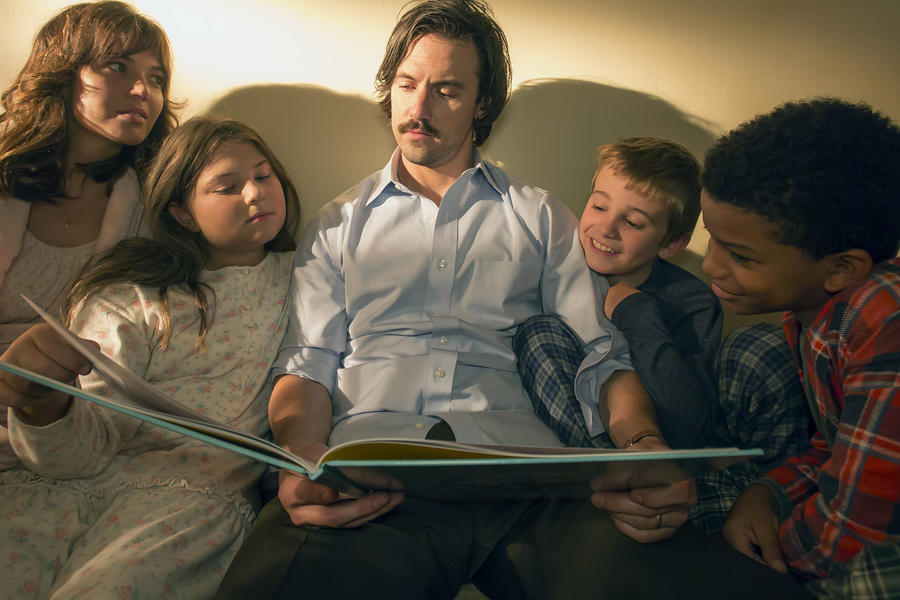 The Pearson family on This Is Us
