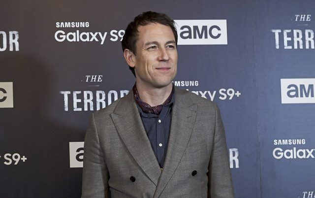 Tobias Menzies smiles at the premiere for 'The Terror.'