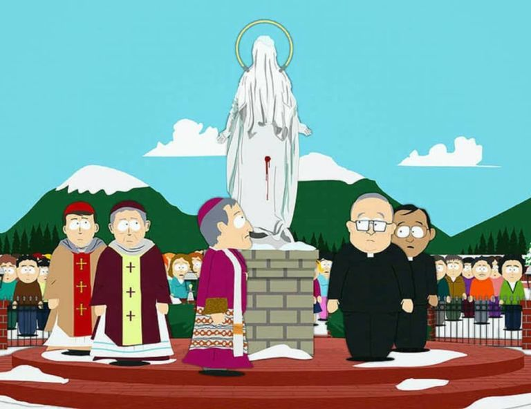 The Virgin Mary Statue on South Park