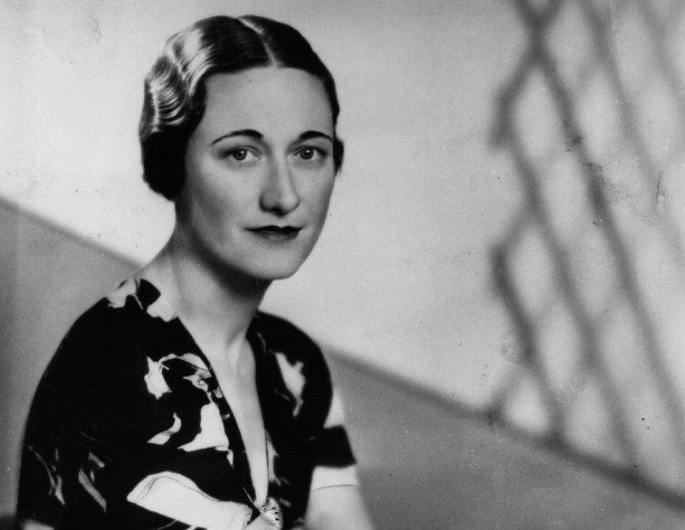 American socialite Wallis Simpson (nee Bessie Wallis Warfield) (1896 - 1986) a week before King Edward VIII abdicated. She became Duchess of Windsor in June 1937 after her marriage to Edward VIII, Duke of Windsor.