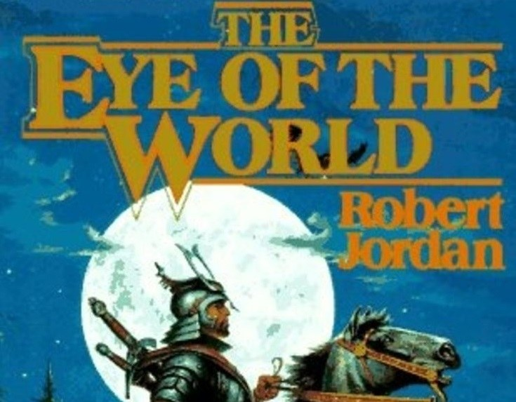 The cover of The Wheel of Time series book 1 The Eye of the World