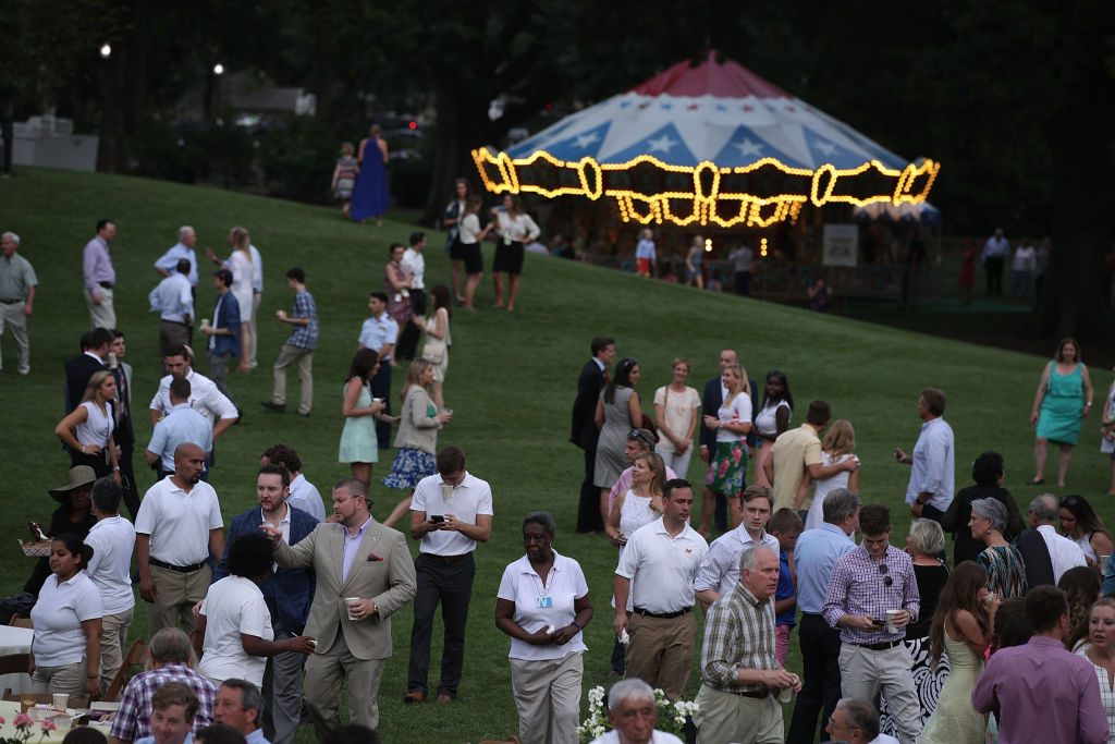 Trump Host Congressional Picnic at white house