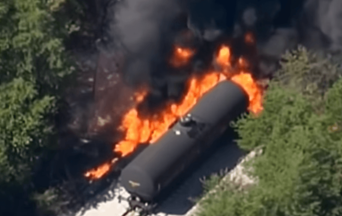 2015 Maryville, Tennessee train derailment