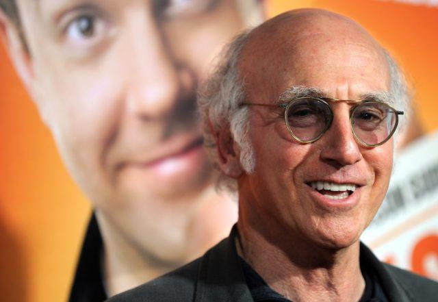 "Actor Larry David arrives at the premiere of ""Hall Pass? in Hollywood, California"