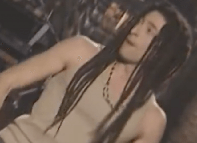 Adrien Brody in his Jamaican costume on Saturday Night Live.