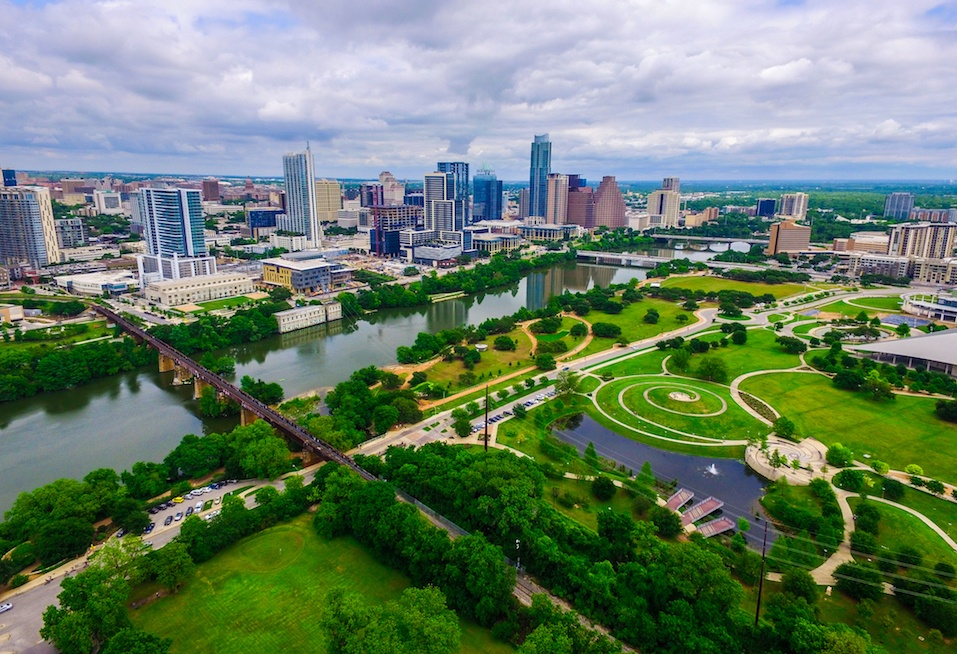 Austin Texas Green Modern Crown Jewel the Texas Hill Country Capital City of ATX