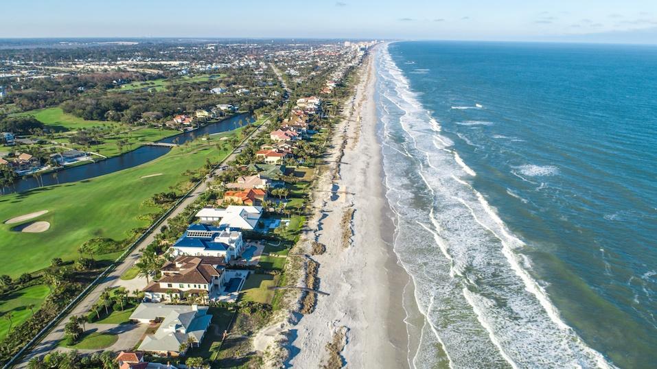 Ponte Vedra Beach in Jacksonville, Florida