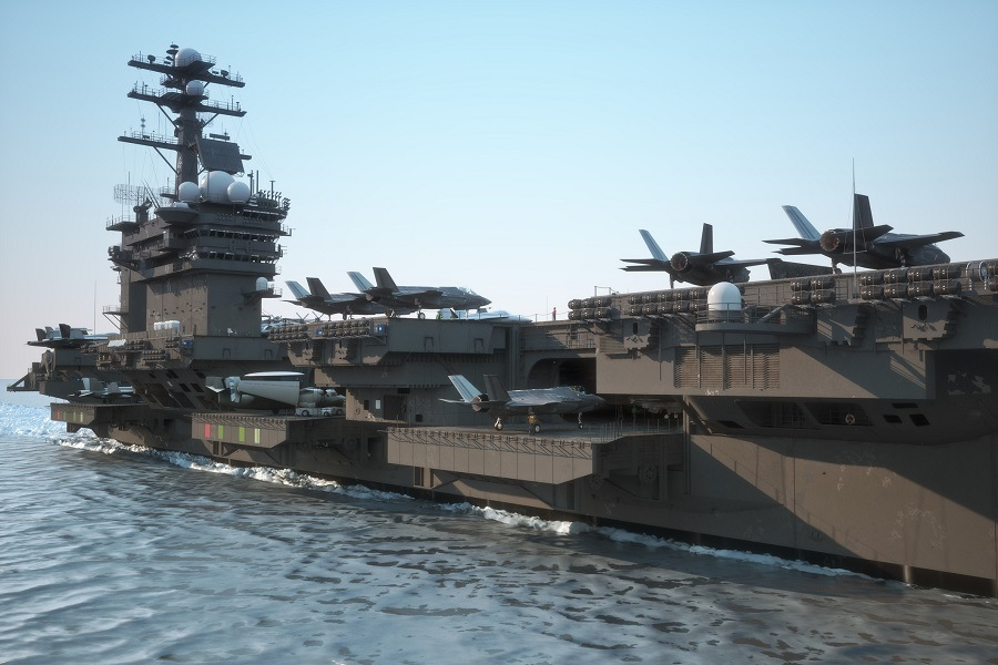 Navy aircraft carrier