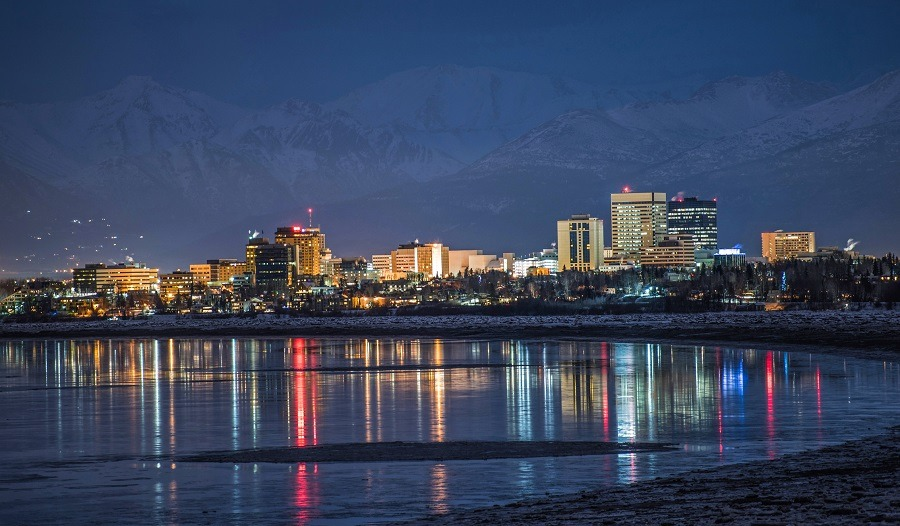 Alaska, Anchorage, most sprawling American cities, spread out cities, largest cities by area