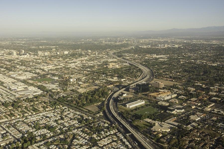 Santa Ana and Anaheim,