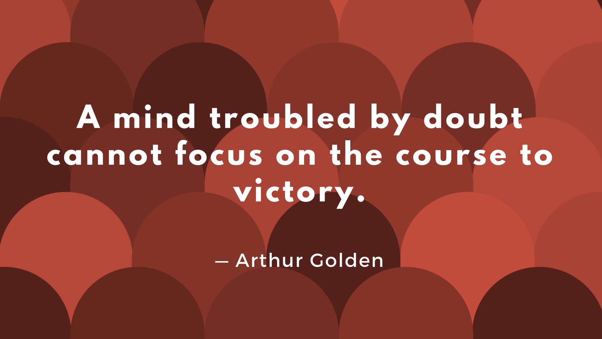 Arthur Golden quote