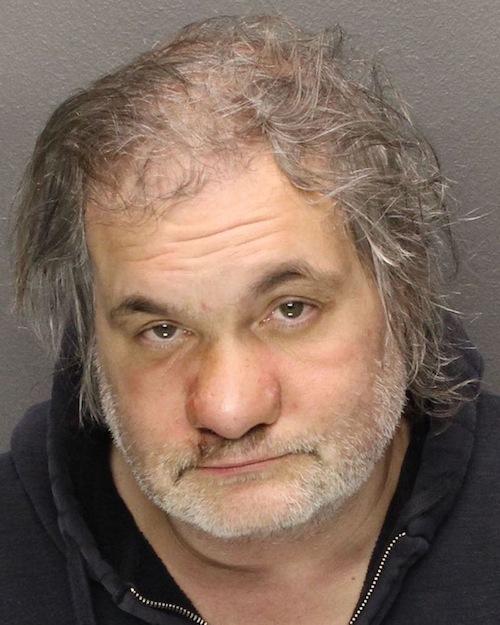 Artie Lang's mugshot.