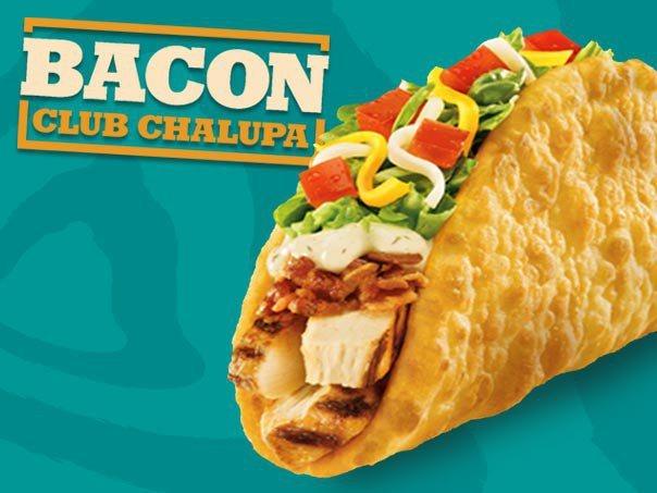 Bacon club chalupa taco bell