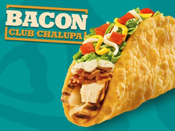 Bacon club chalupa taco bell