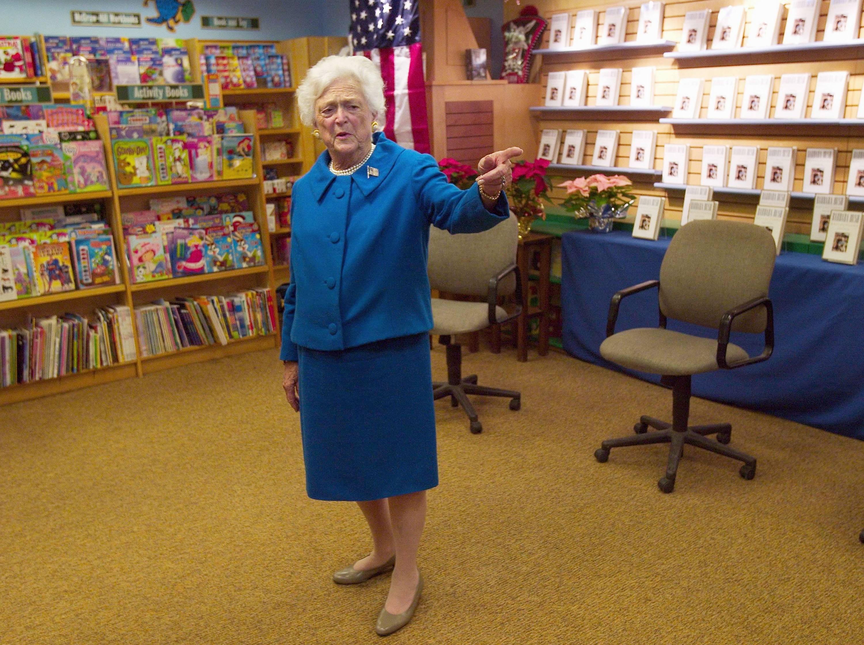 Barbara Bush Releases New Book