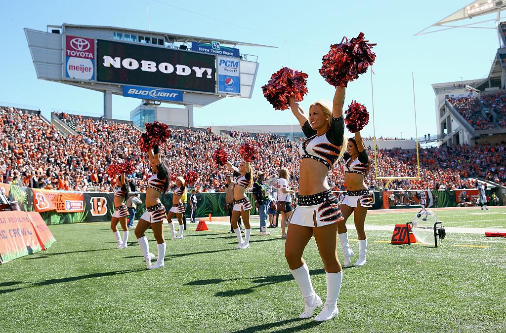 Cincinnati Bengals cheerleaders