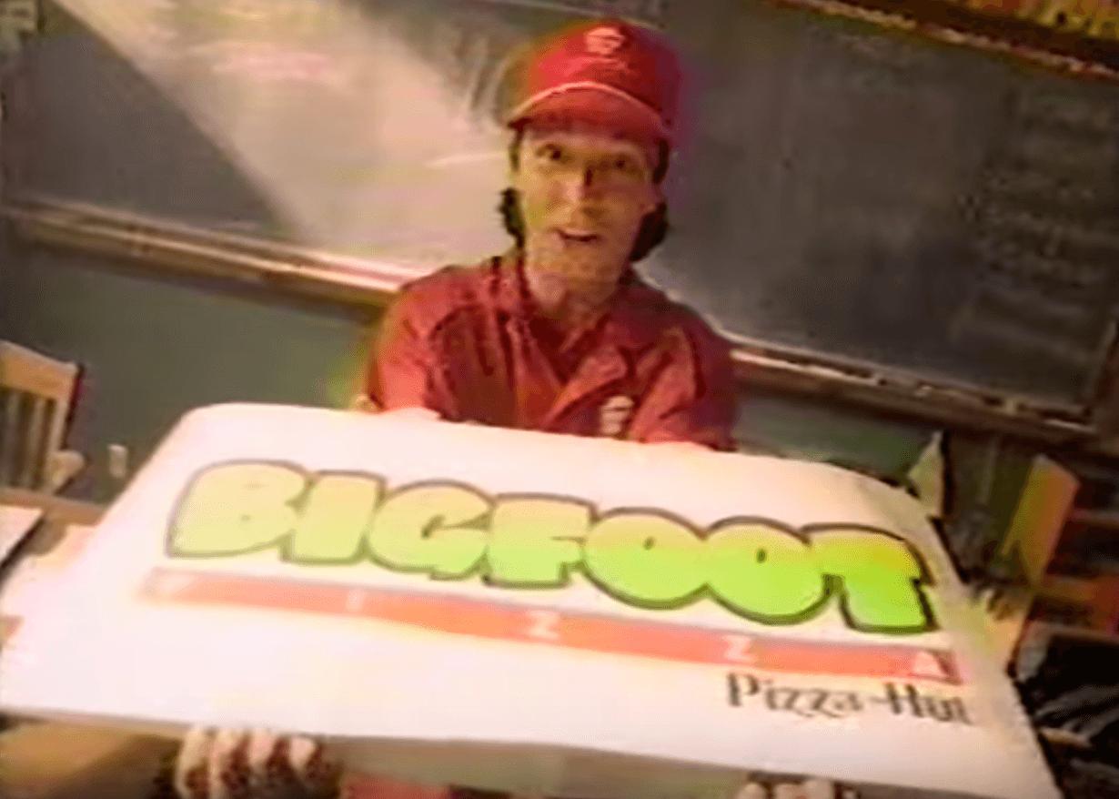 Bigfoot pizza pizza hut