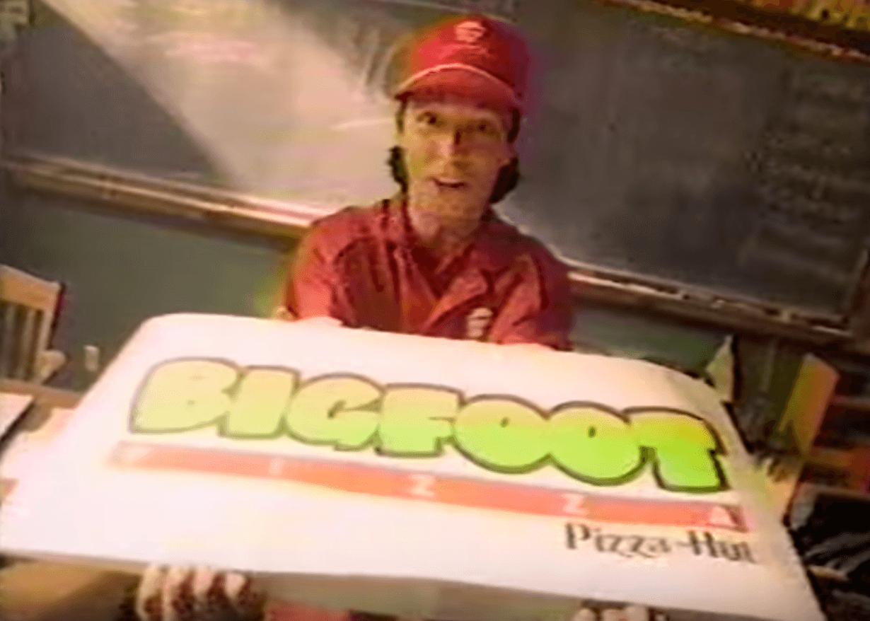 Bigfoot pizza pizza hut