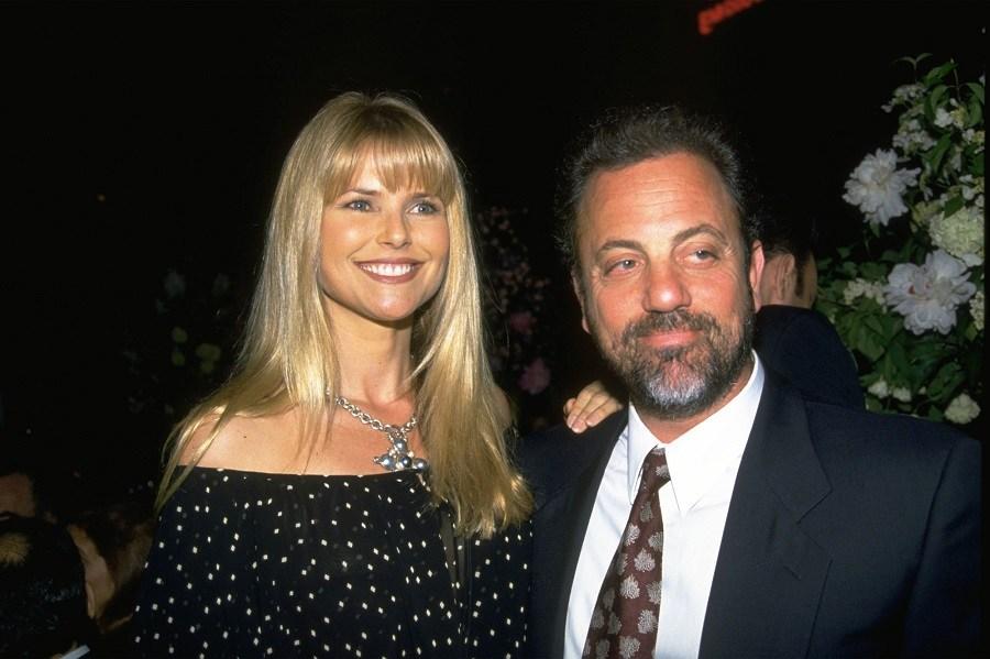 Billy Joel and Christie Brinkley
