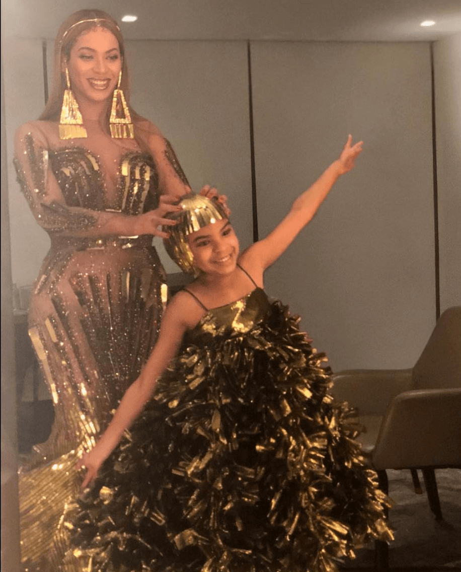 Blue Ivy and beyonce auction