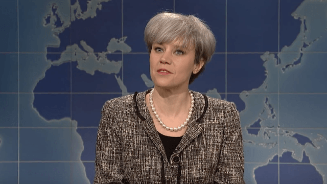 Theresa May's segment on 'Saturday Night Live'.