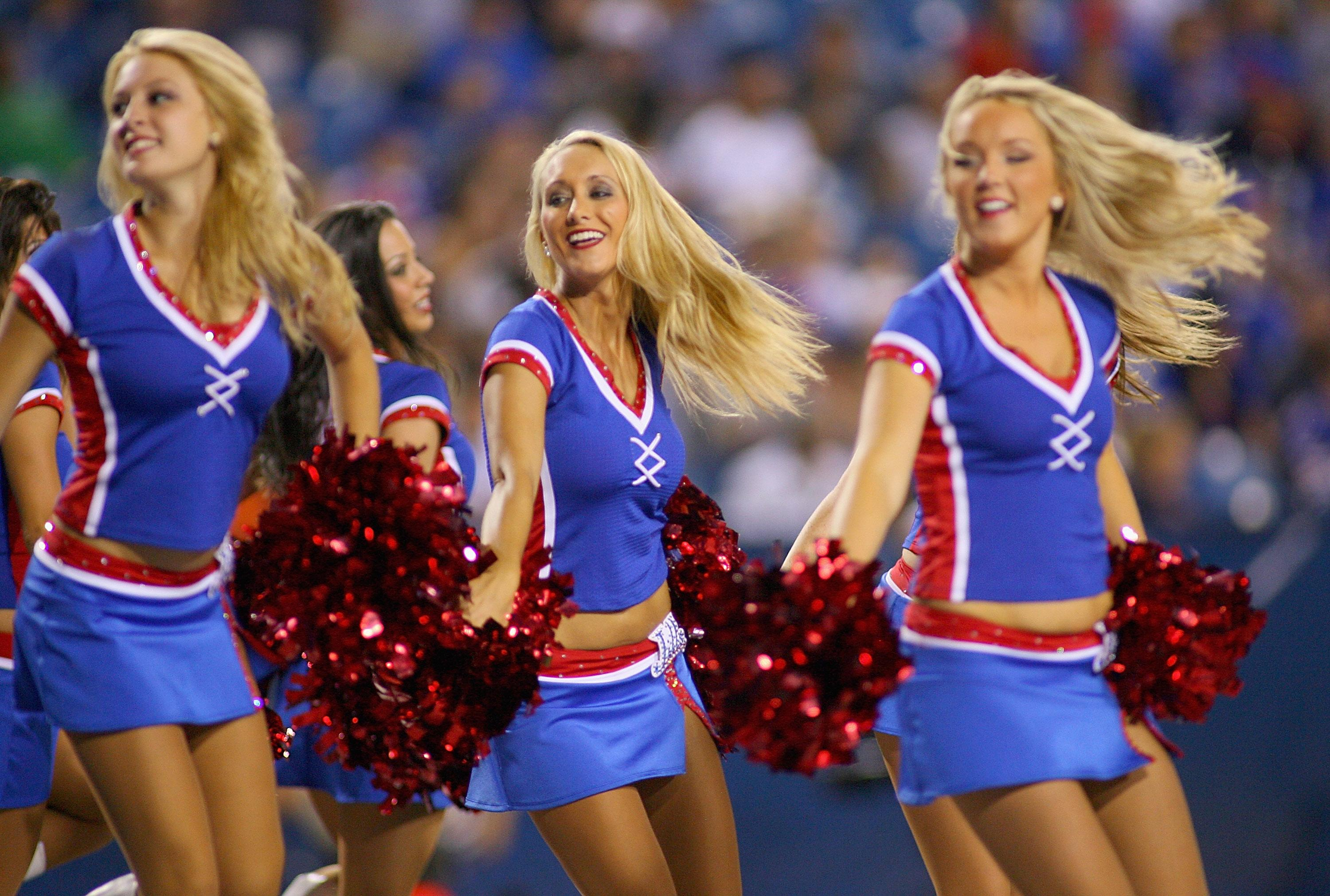 Buffalo Bills Jills cheerleaders