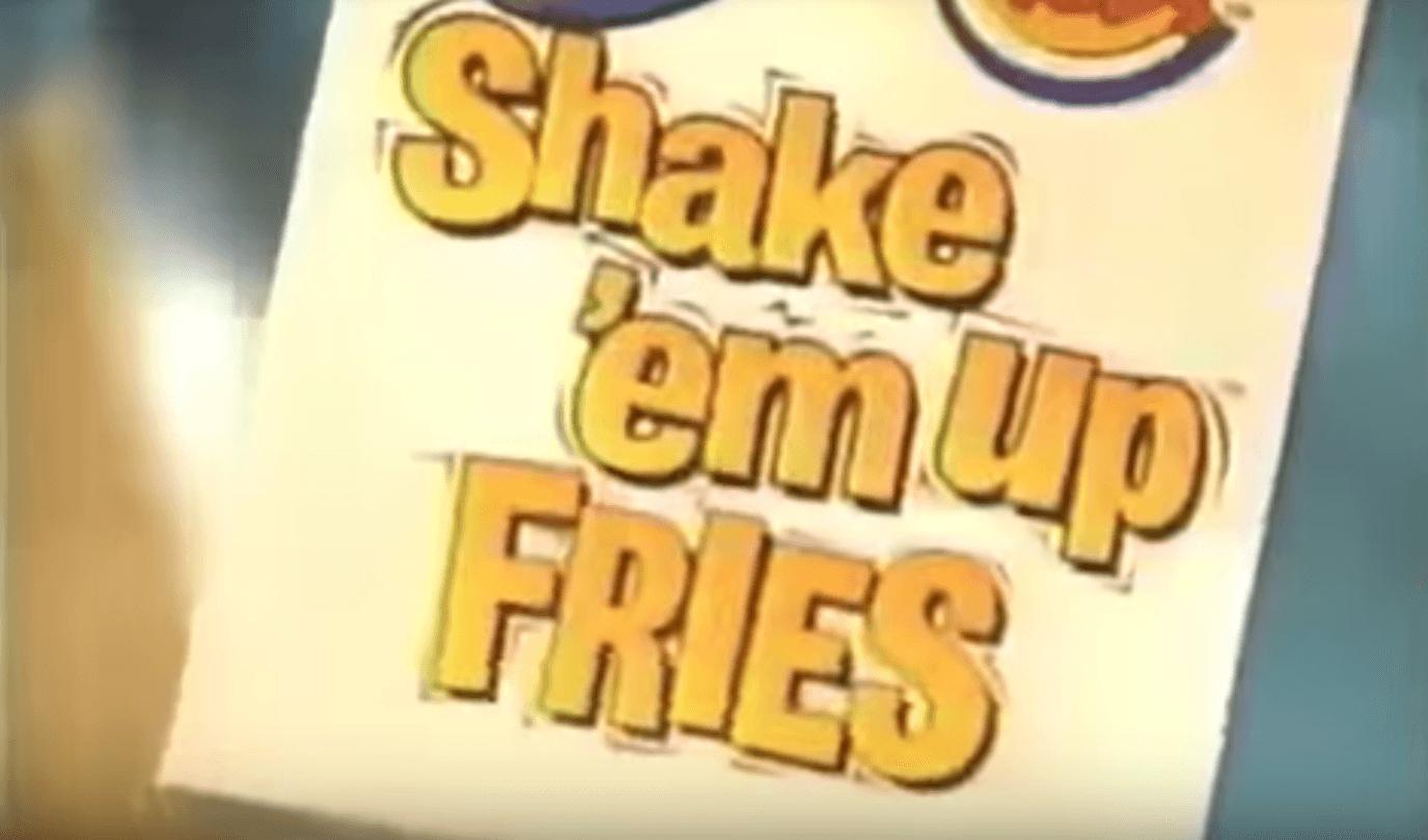 Burger King shake em up fries